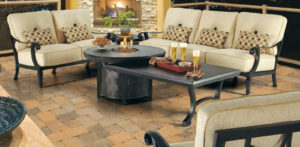 Brooks & Collier, Castelle Bellagio Collection, fire pits