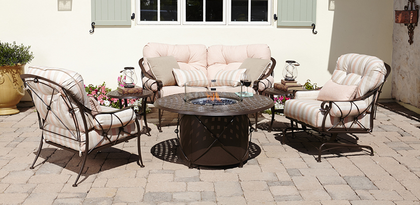 Brooks & Collier, Woodard, fire pits