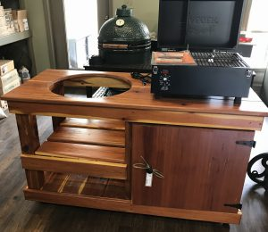 Brooks & Collier, Big Green Egg, Tables