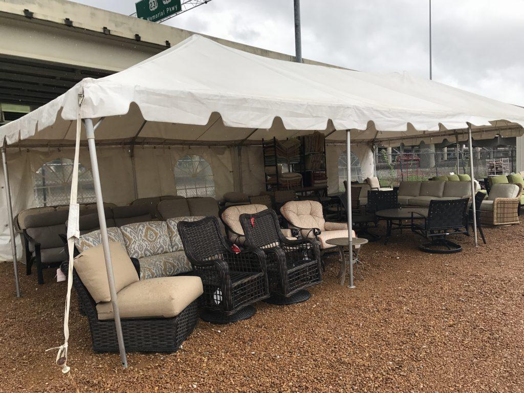 Brooks & Collier, Tent Sale