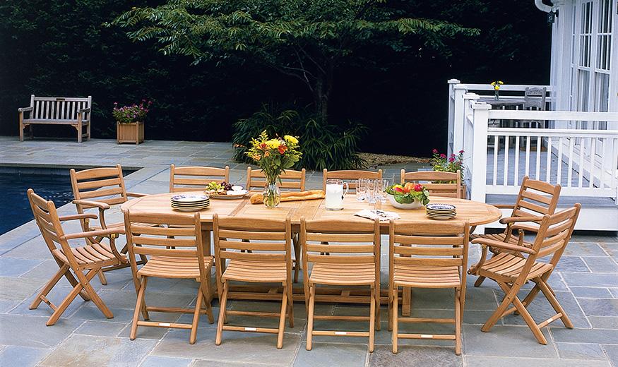 Essex brooks collier for Outdoor furniture essex