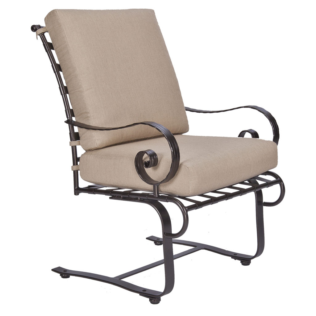 Club Dining Spring Base Arm Chair Brooks & Collier