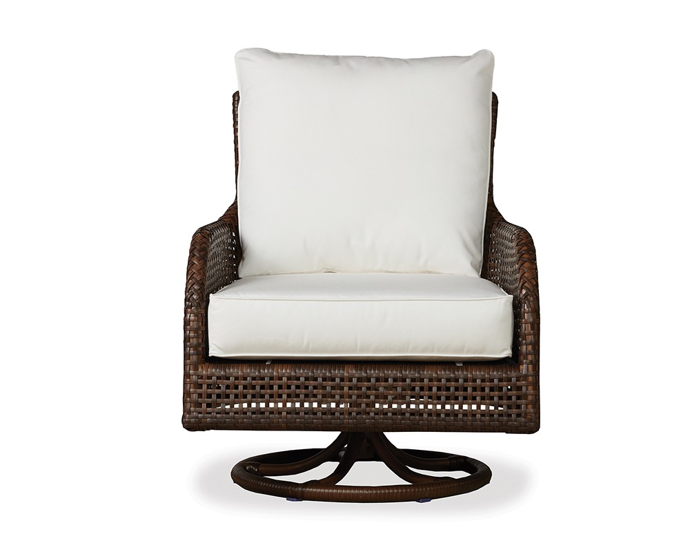 swivel glider lounge chair Brooks & Collier
