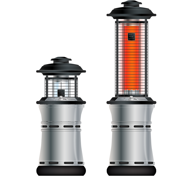 Brooks & Collier, Outdoor Order, Outdoor heaters, axis collapsible heater